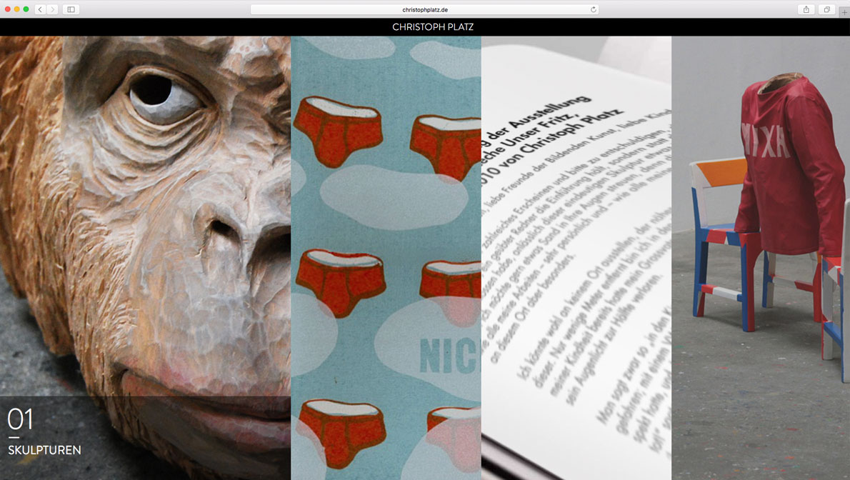 Christoph Platz – Skulpturenkünstler/Illustrator/Autor