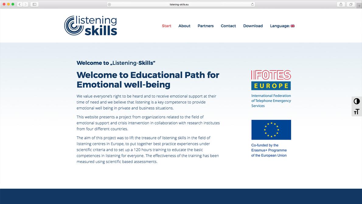 Listening Skills – Schulungsprogramm für emotionales Wohlbefinden