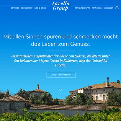 favella.net – Online-Shop und Produkt-Präsentation im Story-Telling Stil