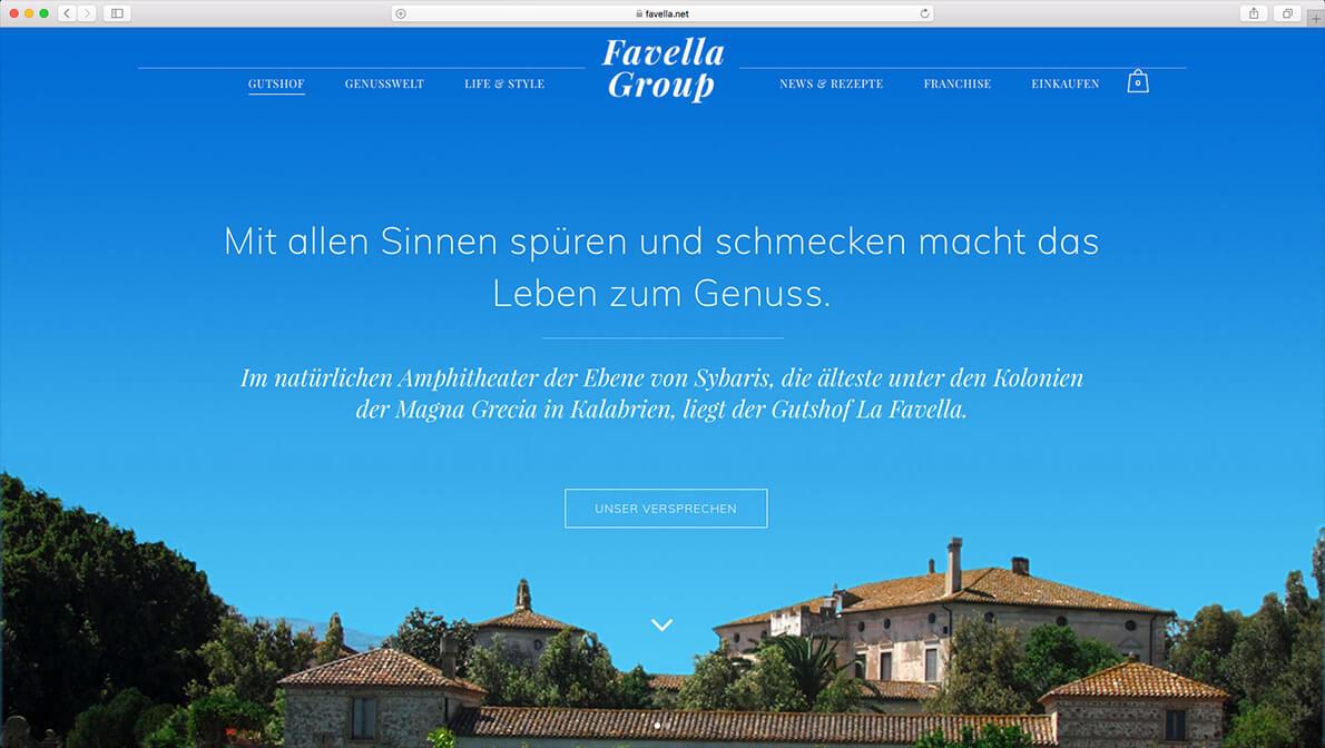 Favella.net - Startseite des Online-Shops für italienische Feinkostspezialitäten aus Kalabrien